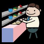食堂のイメージイラスト
